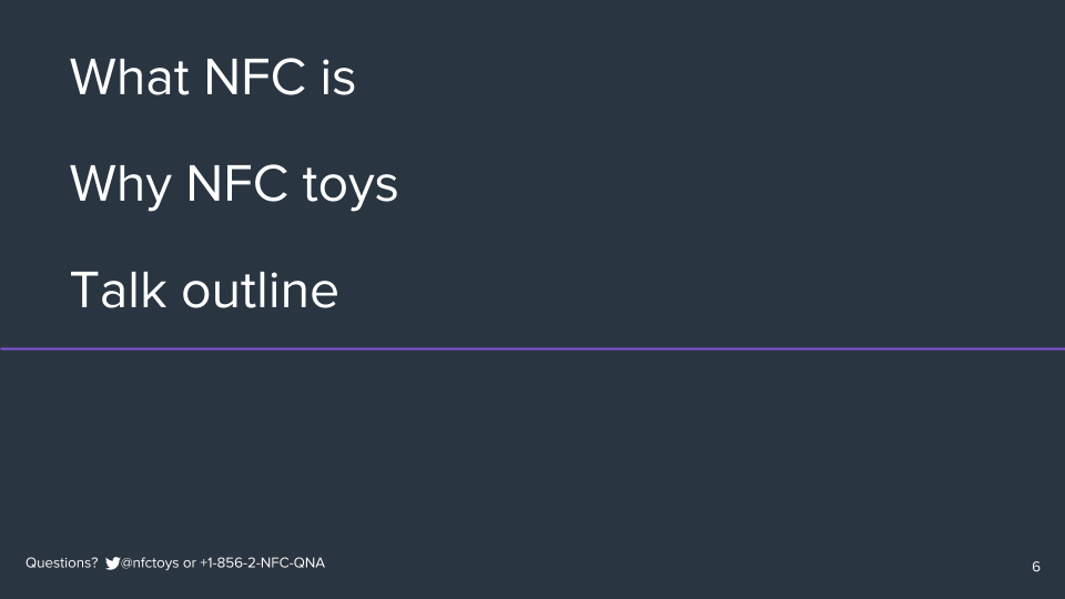 Owning NFC Toys I Own: A Case Study